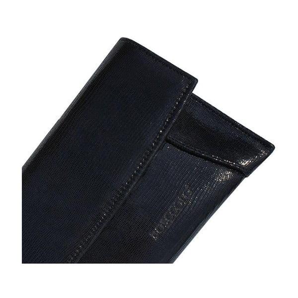 Kožená kabelka/listová kabelka Boscollo Black 2228