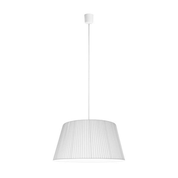 Biele závesné svietidlo Sotto Luce KAMI, Ø 54 cm