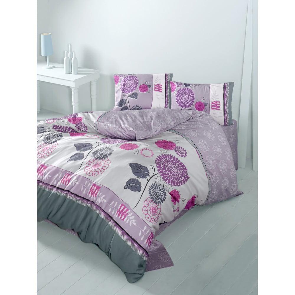 Obliečky s plachtou Buse Pink, 200x220 cm