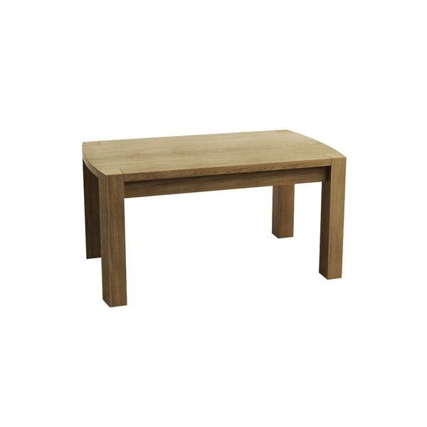 Väčší kávový stolík z dubového dreva Fornestas Goliath