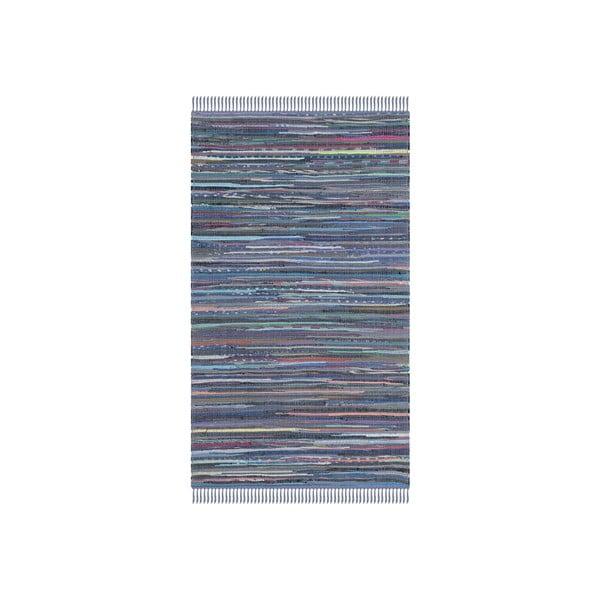 Koberec Elena 68x182 cm, modrý
