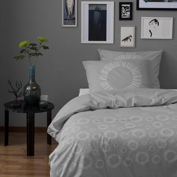 Obliečky Sashi 200x200 cm, šedé