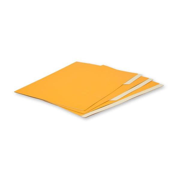 Sada 3 zložiek Moleskine, oranžová