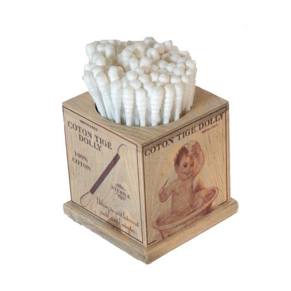 Stojan na vatové tyčinky do uší Cotton Bud