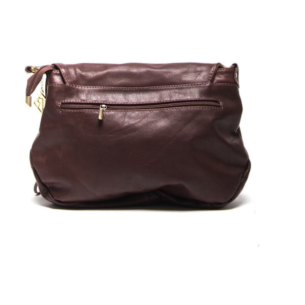 Kožená kabelka Isabella Rhea 2053 Marrone