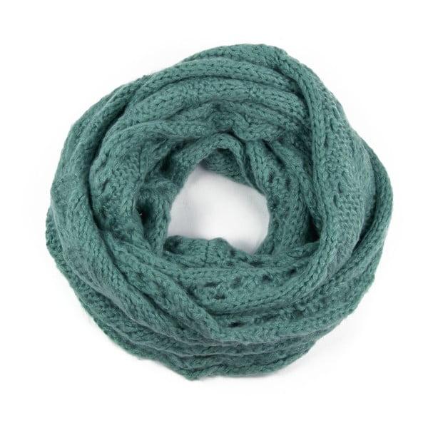 Kruhový šál Poppy Green