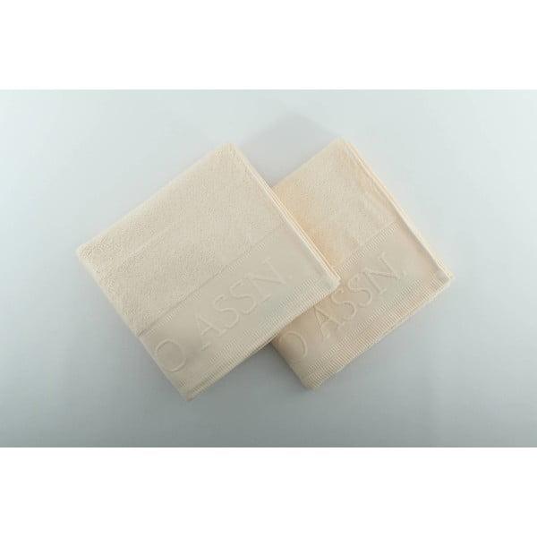 Sada 2 uterákov U.S. Polo Assn. Vanilla, 50 x 90 cm