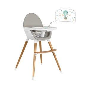 Detská polohovacia jedálenská stolička Tanuki NUUK E×plorer Rabbit