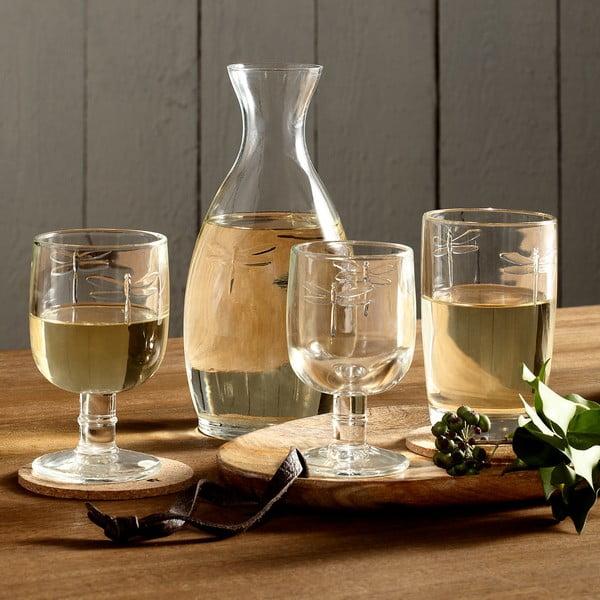 Sklenený pohár La Rochère Libellules, objem 280 ml