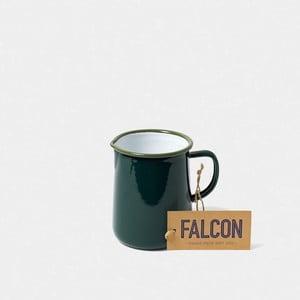 Tmavozelený smaltovaný džbán Falcon Enamelware OnePint, 586 ml