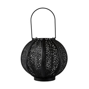 Lampáš Villa Collection Metal Blacksura, 22 cm