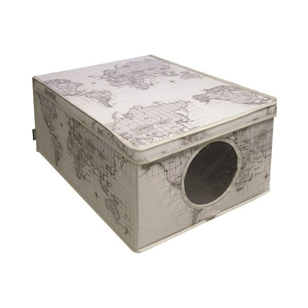 Úložný box Maps, 48x36 cm