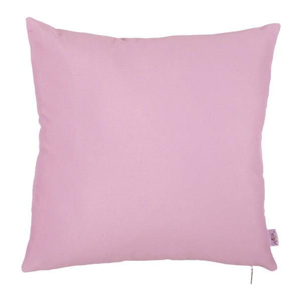 Svetlofialová obliečka na vankúš Apolena Simple Pink, 41 × 41 cm