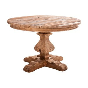 Jedálenský stôl z recyklovaného borovicového dreva VICAL HOME Tanzania