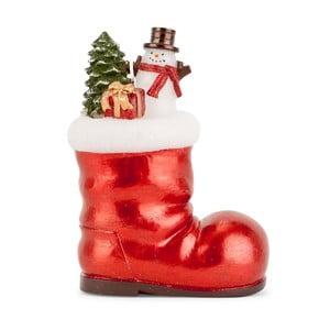Dekoratívna topánka s darčekmi Santa