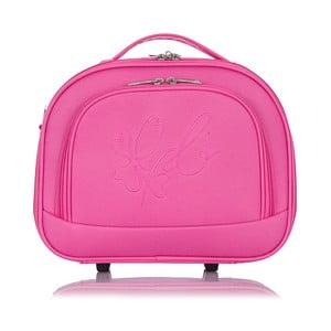 Ružová príručná batožina Les P'tites Bombes