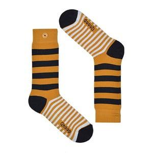 Ponožky Qnoop Linear Wide Oak, veľ. 39-42