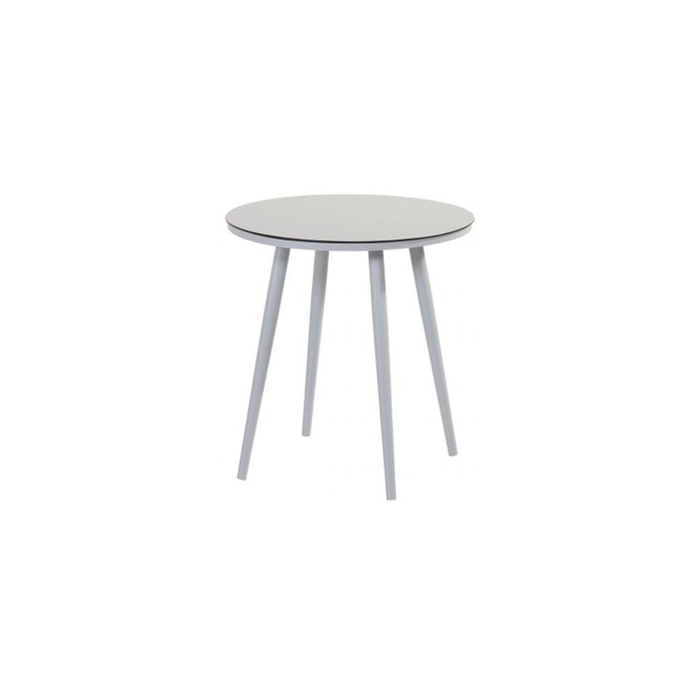 Sivý záhradný stolík Hartman Sophie Studio Bistro, ø 66 cm