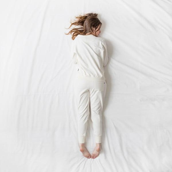Dámske biele nohavice Snurk Uni, S