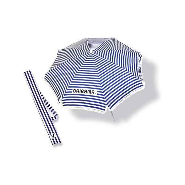 Plážový slnečník Fun Brella Blue Stripes
