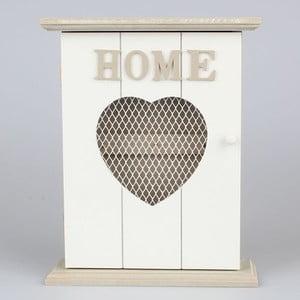 Vešiak na kľúče Home Love, biely