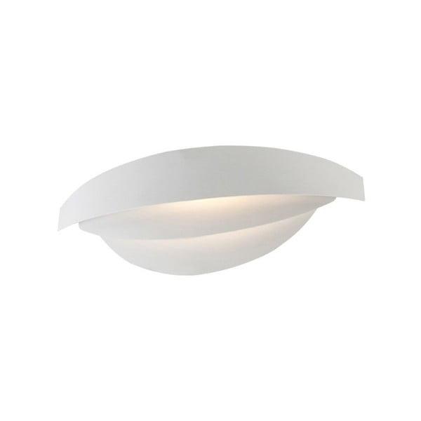 Biele nástenné svietidlo Homemania Mask