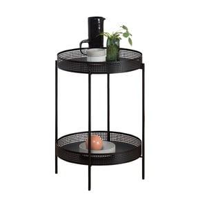 Čierny odkladací stolík OK Design Ami