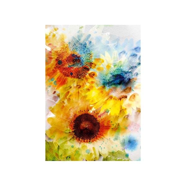 Obraz Kvety, 100x70 cm
