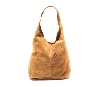 Kožená kabelka Roberta M 885 Cognac