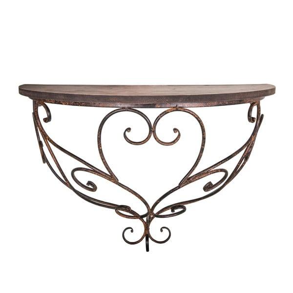 Nástenný konzolový stolík Antic Line