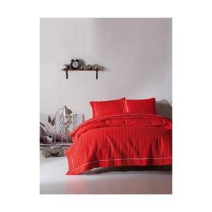 Obliečky na dvojlôžko Martina Red, 240×220 cm