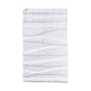 Biela kúpeľňová predložka Zone Flow, 50 x 80 cm