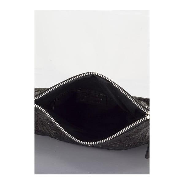 Kožená kabelka Markese 6948 Black