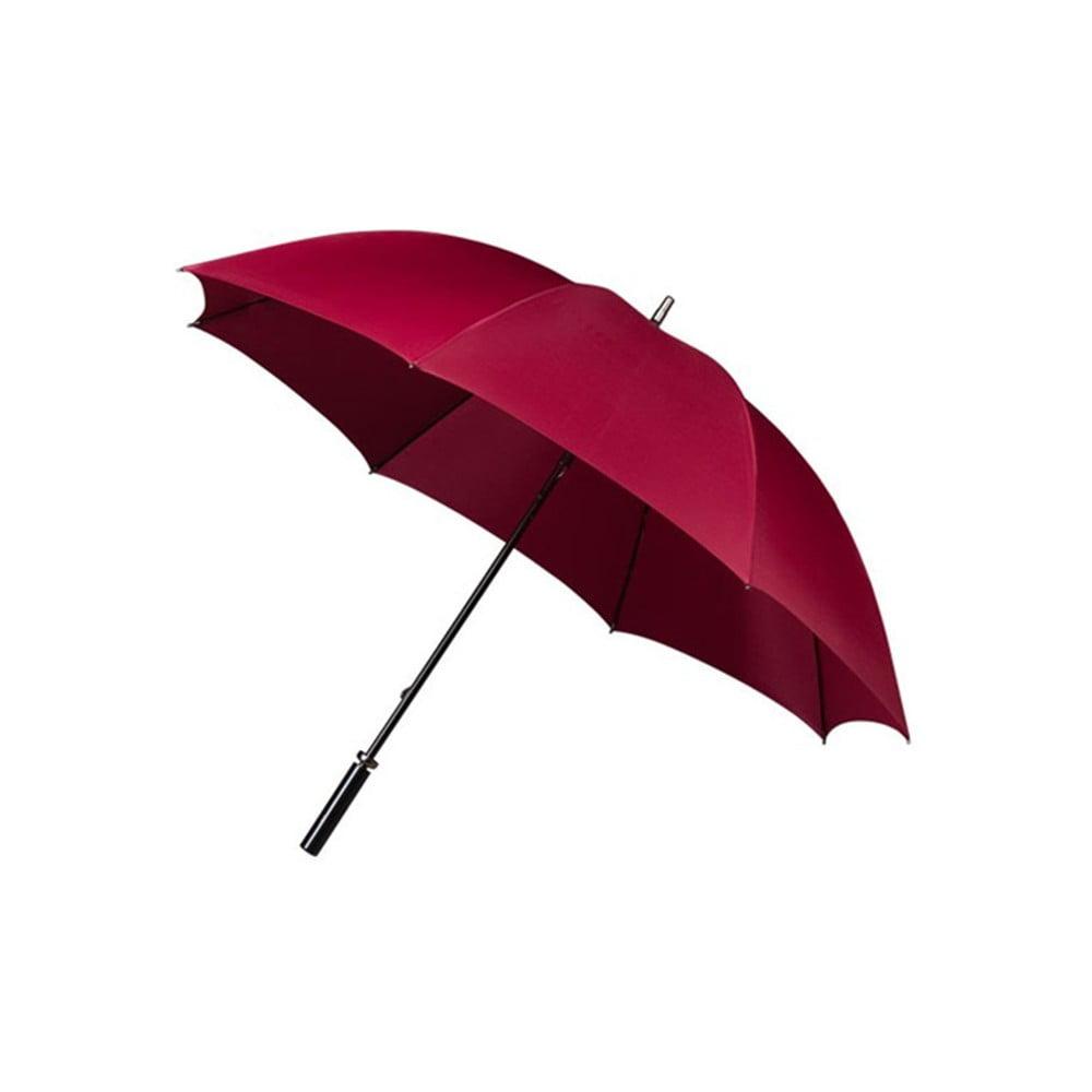 Vínovočervený golfový dáždnik Burgundy, ⌀ 125 cm