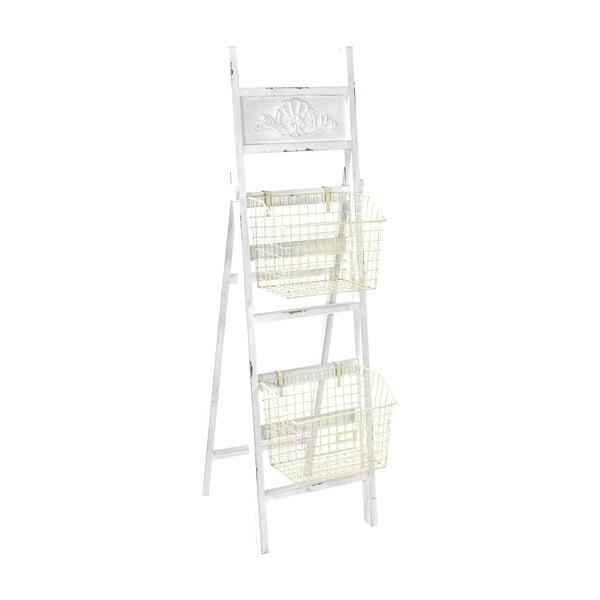 Drevený rebrík s košíkmi Ladder