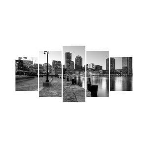 Viacdielny obraz Black&White no. 91, 100x50 cm