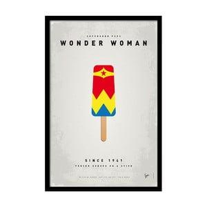 Plagát Wonder Woman, 35x30 cm