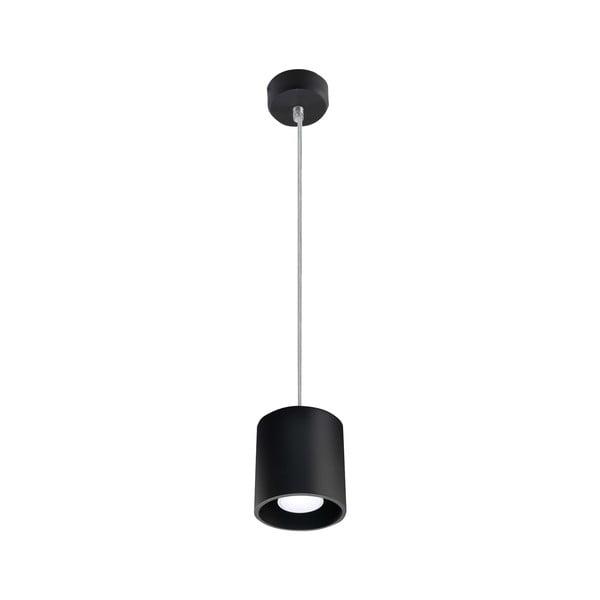 Čierne závesné svetlo Nice Lamps Roda