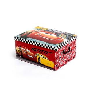 Úložný skladací box na hračky InnovaGoods Cars Folding Toy Boy, 50 × 39 cm