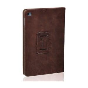 Hnedý kožený obal na iPad Mini 4 Packenger