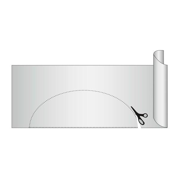 Transparentná protišmyková podložka do zásuvky Wenko Anti Slip, 150×50cm