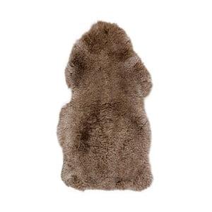 Hnedá kožušina s krátkým vlasom Dotonna, 100 x 55 cm