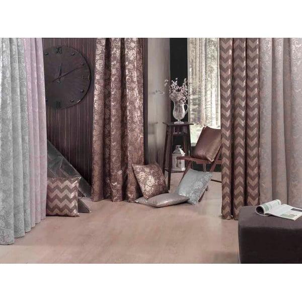 Hnedá obliečka na vankúš Apolena Chica, 43 × 43 cm