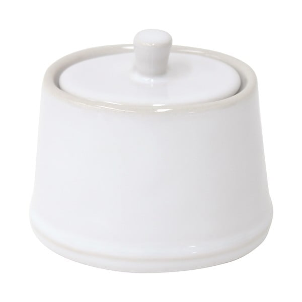 Biela keramická cukornička Costa Nova Astoria, 190 ml