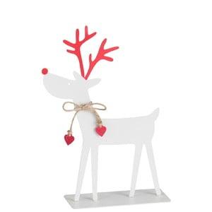 Vianočná kovová soška J-Line Reindeer