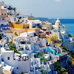 Obraz Grécko, 60x60 cm