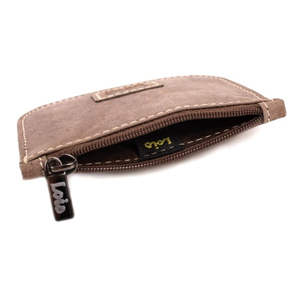 Kožená peňaženka na drobné Lois Brown, 9,5x8 cm