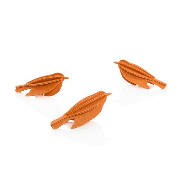 Skladacia pohľadnica Lovi Minibird Orange