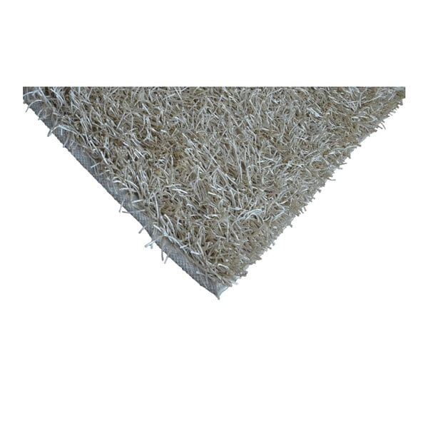 Sivobéžový koberec Webtappeti Shaggy, 60 x 100 cm