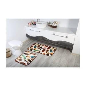 Sada 2 kúpeľnových predložiek Aksu Tuy